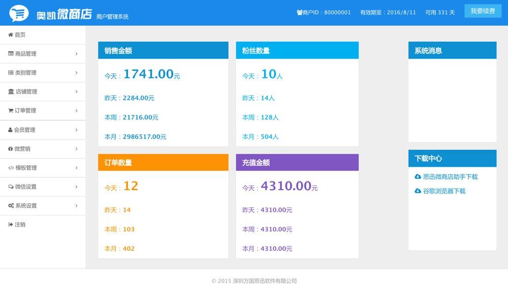 微商店业务流程图